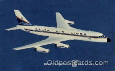 air001248 - Deltas Convair  Airplane, Aviation, Postcard Post Card