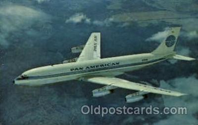 air001275 - Pan American Jet Clipper  Airplane, Aviation, Postcard Post Card