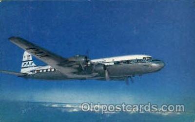 air001285 - PAA Super 6 Clipper  Airplane, Aviation, Postcard Post Card