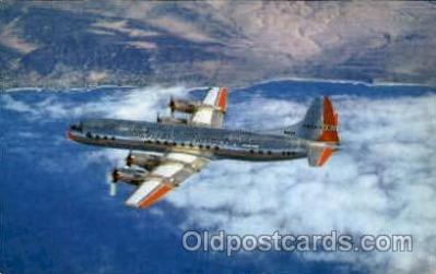 air001349 - American Airlines Electra Flagship Airplane, Aviation, Postcard Post Card