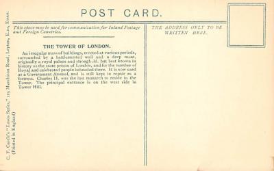 alan007 - Post Card Old Vintage Antique  back