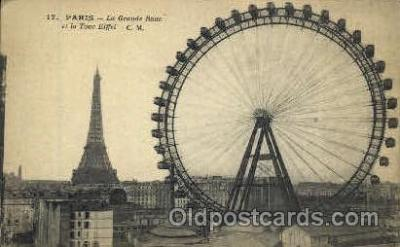 La Grande Roue et la Tour Eiffel, Paris, France