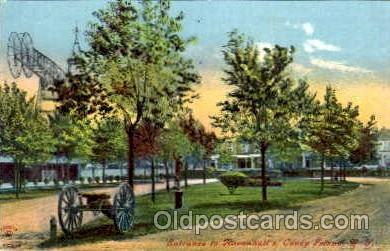 amp001017 - Coney Island, New York USA Amusement Park Postcard Post Card