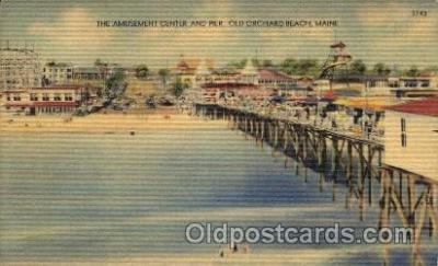 Old Orchard Beach, Maine USA