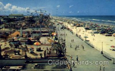 amp001112 - Dayton Beach Boardwalk Amusement Park Post Card Post Card