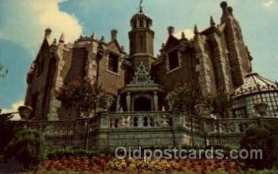amp001153 - The Haunted Mansion, Walt Disney World, FL USA Amusement Park Parks, Postcard Post Card