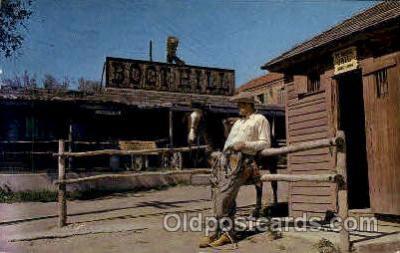 amp001175 - Boot Hill, Dodge City, KS USA Amusement Park Parks, Postcard Post Card