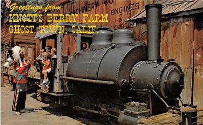 amp005112 - Knott's Berry Farm, Ghost Town, California, CA, USA Postcard