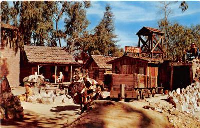amp005252 - Knott's Berry Farm, Ghost Town, California, CA, USA Postcard