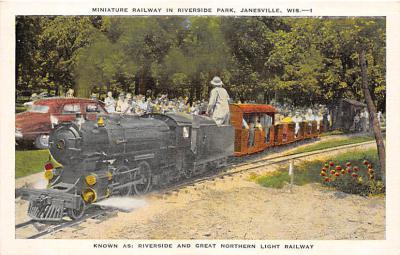 amp005286 - Janesville, Wisconsin, WI, USA Postcard