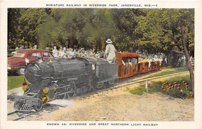 amp005293 - Janesville, Wisconsin, WI, USA Postcard