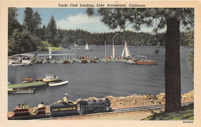 amp005319 - Lake Arrowhead, California, CA, USA Postcard