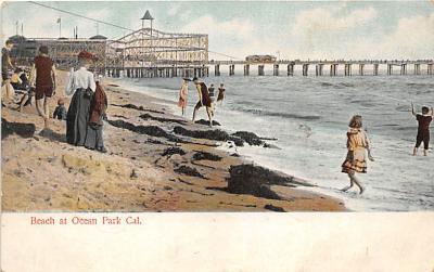 amp005326 - Ocean Park, California, CA, USA Postcard
