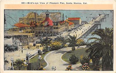 amp005327 - Santa Monica, California, CA, USA Postcard