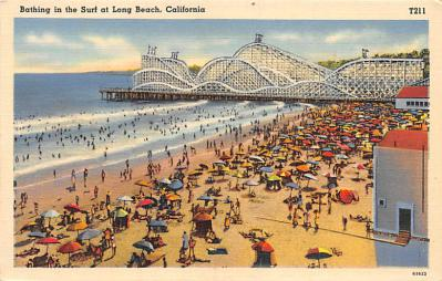 amp005354 - Long Beach, California, CA, USA Postcard