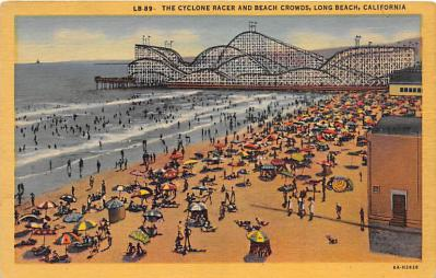 amp005373 - Long Beach, California, CA, USA Postcard