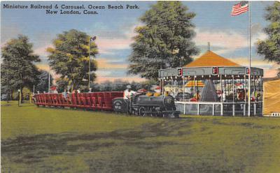 amp007005 - New London, Connecticut, CT, USA, USA Postcard