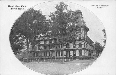 amp007028 - Savin Rock, Connecticut, CT, USA, USA Postcard