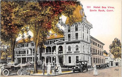 amp007032 - Savin Rock, Connecticut, CT, USA, USA Postcard