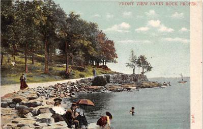 amp007060 - Savin Rock, Connecticut, CT, USA Postcard