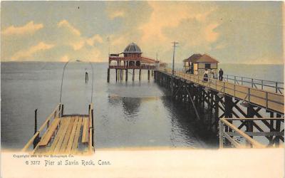 amp007085 - Savin Rock, Connecticut, CT, USA Postcard