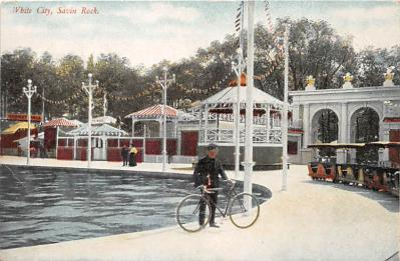 amp007092 - Savin Rock, Connecticut, CT, USA Postcard