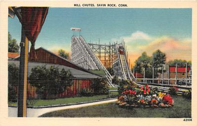 amp007099 - Savin Rock, Connecticut, CT, USA Postcard