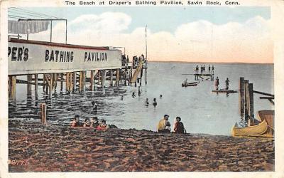 amp007128 - Savin Rock, Connecticut, CT, USA Postcard