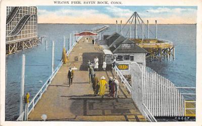 amp007221 - Savin Rock, Connecticut, CT, USA Postcard