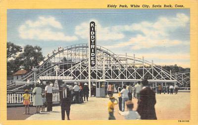 amp007237 - Savin Rock, Connecticut, CT, USA Postcard