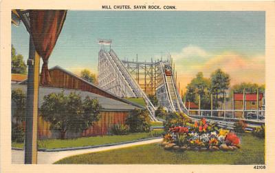 amp007241 - Savin Rock, Connecticut, CT, USA Postcard