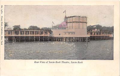 amp007242 - Savin Rock, Connecticut, CT, USA Postcard