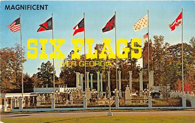 amp010008 - Atlanta, Georgia, GA, USA Postcard