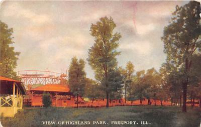 amp013023 - Freeport, Illinois, IL, USA Postcard