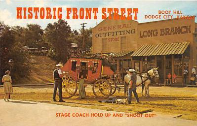 amp016006 - Dodge City, Kansas, KS, USA Postcard