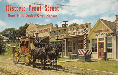 amp016018 - Dodge City, Kansas, KS, USA Postcard