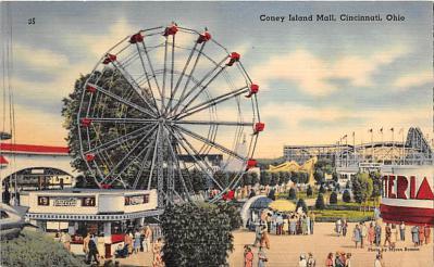 amp035042 - Cincinnati, Ohio, OH, USA Postcard