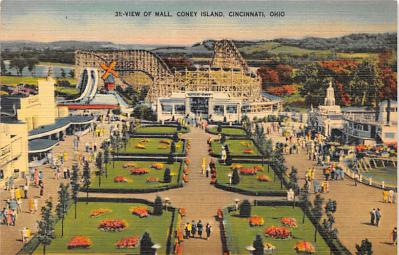 amp035050 - Cincinnati, Ohio, OH, USA Postcard