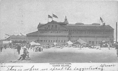 amp100004 - Amusement Park Postcard Post Card