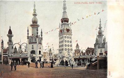 amp100015 - Amusement Park Postcard Post Card