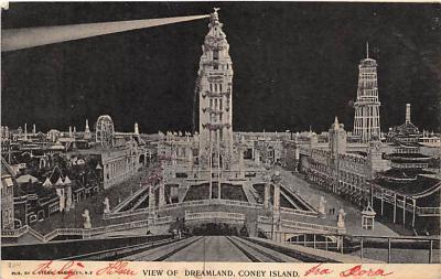 amp100020 - Amusement Park Postcard Post Card