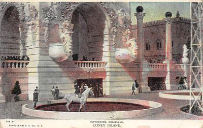 amp100033 - Amusement Park Postcard Post Card