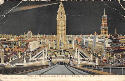 amp100056 - Amusement Park Postcard Post Card