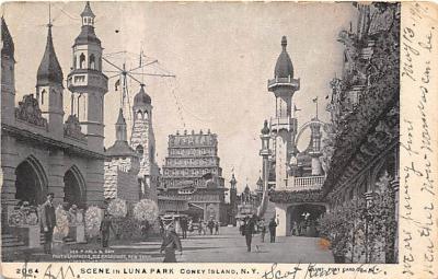 amp100058 - Amusement Park Postcard Post Card