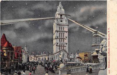amp100060 - Amusement Park Postcard Post Card