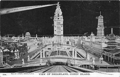 amp100063 - Amusement Park Postcard Post Card