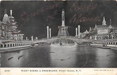 amp100069 - Amusement Park Postcard Post Card
