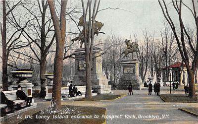 amp100082 - Amusement Park Postcard Post Card
