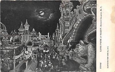 amp100094 - Amusement Park Postcard Post Card