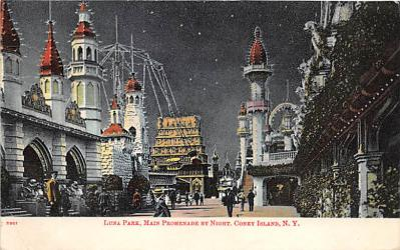 amp100102 - Amusement Park Postcard Post Card